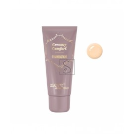 Fondotinta Creamy Comfort - Light Warm - Neve Cosmetics