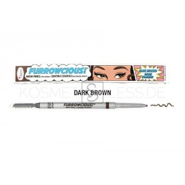 Furrowcious!® Brow Pencil with Spooley - Dark Brown - The Balm Cosmetics