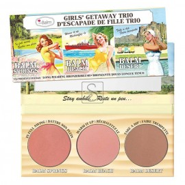 Girls Getaway Trio Blush -The balm Cosmetics