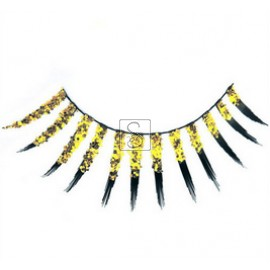 Glitzy False Eyelashes