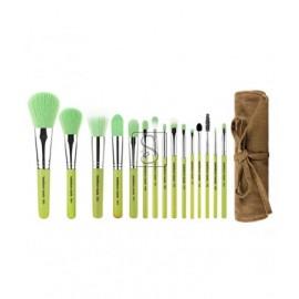 Green Bambu Complete 15pc. Brush Set