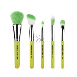 Green Bambu Mineral 5pc. Brush Set