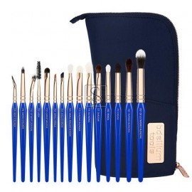 Golden Triangle Eyes Only Complete 15pc. Brush Set with Pouch - Bdellium Tools