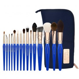 Golden Triangle PHASE II Complete 15pc. Brush Set with Pouch - Bdellium Tools