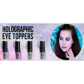 Holographic Eyeshadow Toppers - Barry M