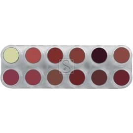 Tavolozza Lipstick - LB - 12 colori - Grimas