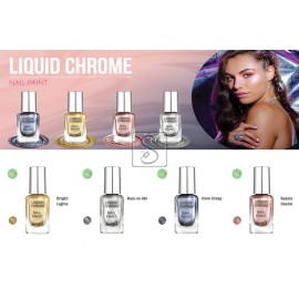 Liquid Chrome Nail Paint - Barry M