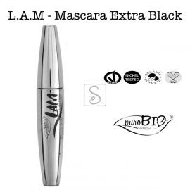 Mascara L.A.M Extra Black - PuroBio Cosmetics - StockMakeUp