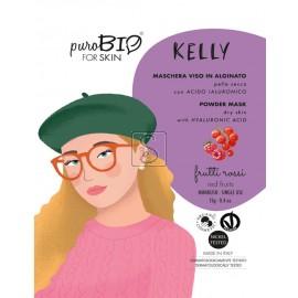 Maschera Viso in Alginato Kelly - Pelle Secca - PuroBio Cosmetics - StockMakeUp