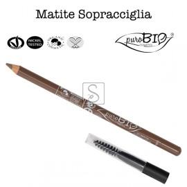 Matita Sopracciglia con Scovolino - PuroBio Cosmetics - StockMakeUp
