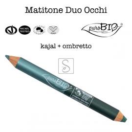 Matitone Duo Occhi - Kajal + Ombretto - PuroBio Cosmetics - StockMakeUp