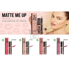 Matte Me Up Lip Kits - Barry M