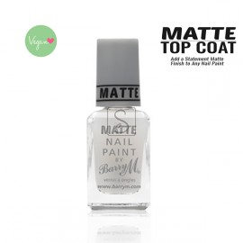 Matte Topcoat - Barry M
