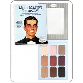Meet matt(e) Trimony® - the Balm cosmetics