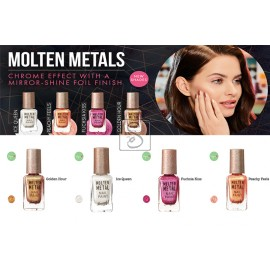 Molten Metals Nail Paints - Barry M