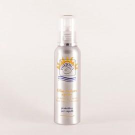 Olio solare protettivo per capelli spray