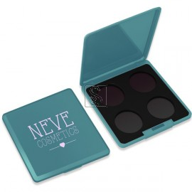 Palette Personalizzabile da 4 - Teal Trip - Neve Cosmetics