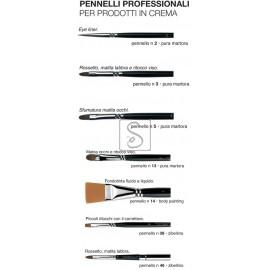 Pennelli professionali per prodotti in crema - Cinecittà Make Up