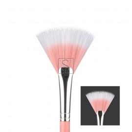Pink Bambu 925 Duet Fiber Fan - Bdellium Tools