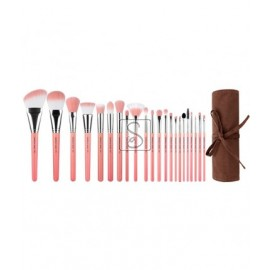 Pink Bambu Deluxe 22pc. Brush Set Confezione