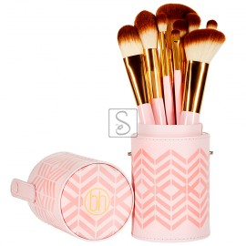 Pink Perfection Set 10 pennelli - BH Cosmetics