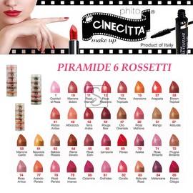 Piramide 6 rossetti - Cinecittà Makeup