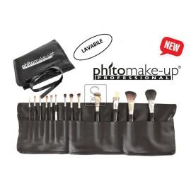 Portapennelli grande in tessuto - PIENO - Cinecittà makeup - StockMakeUp