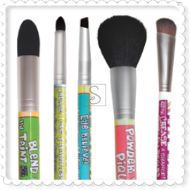 Powder to the People®  Makeup Brushes - The Balm Cosmetics