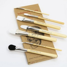 SFX Glue Brush 7 pc. brush set with ziplock pouch