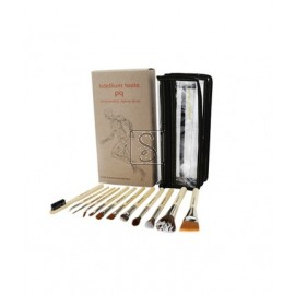 SFX 12 pc. Brush Set with Double Pouch - 13SFX12 - Bdellium Tools
