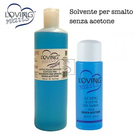 Solvente smalto senza acetone - Loving Nails