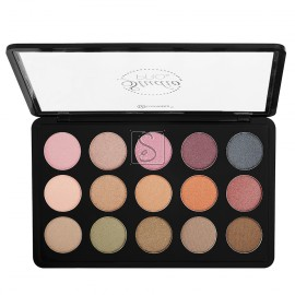 Studio Pro Dual Effect Wet/Dry 15 Color Eyeshadow Palette Universal - BH Cosmetics