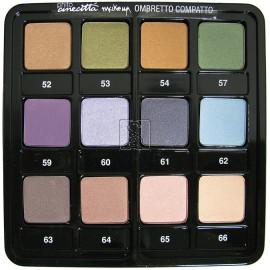 Tavolozza ombretti - 12 colori dal 52 al 66 - Cinecitta make up
