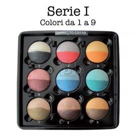 Tavolozza ombretti cotti Kent's - 9 colori da 1 a 9