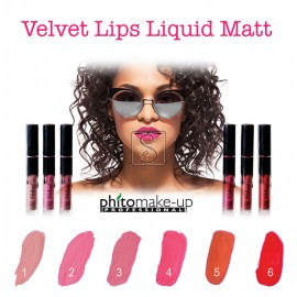 Velvet Lips Liquid Matt Long Lasting - Cinecittà Make Up