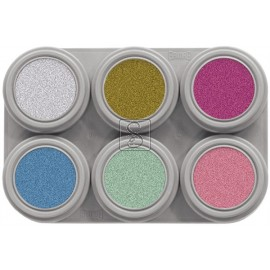 Tavolozza Water Make up Pearl - P6 - 6 colori