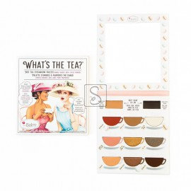 What's the Tea® - Hot Tea - Eyeshadow and Primer Palette - the Balm cosmetics
