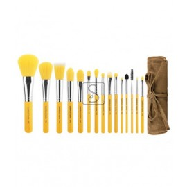 Yellow Bambu Complete 15pc. Brush Set