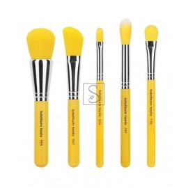 Yellow Bambu Mineral 5pc. Brush Set