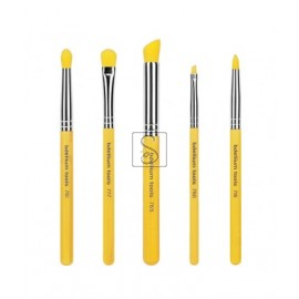 Yellow Bambu Smoky Eyes 5pc. Brush Set
