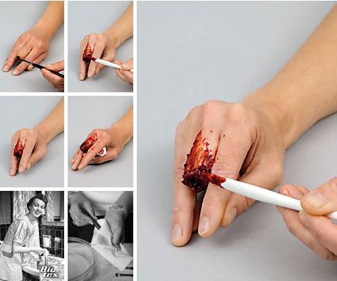 Applicazione Blood Paste - Grimas