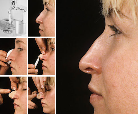 Applicazione Nose Wax - Grimas