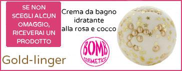 Prodotto omaggio Bomb Cosmetics